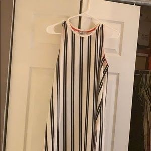Zara long stripe shirt